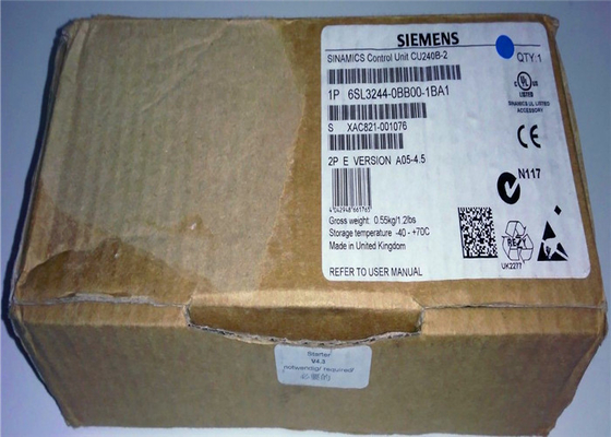 Siemens 6SL3244-0BB00-1BA1 Variable Frequency Inverter B type RS485 interface with USS